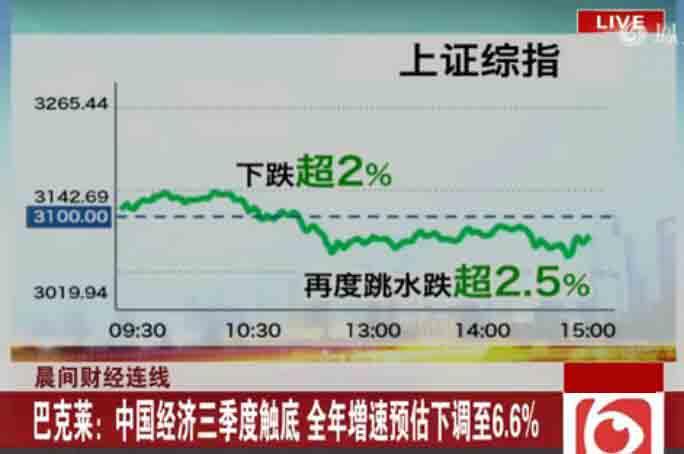 沪指失守3100点上周跌幅0.18%