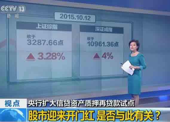 央行扩大信贷资产质押