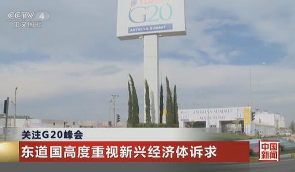 关注G20峰会:东道国高度重视新兴经济体诉求