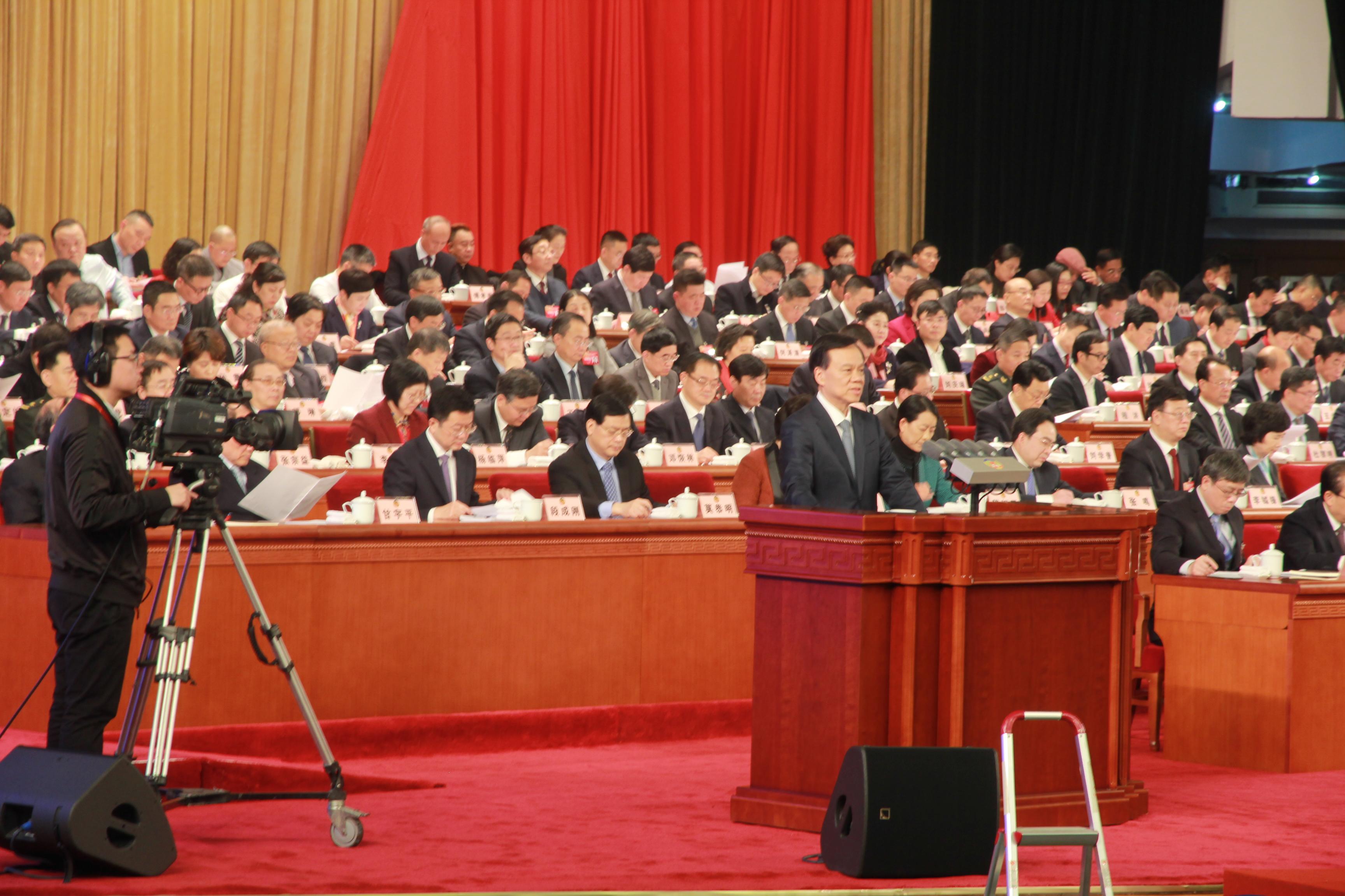 重庆市委书记陈敏儿在会上发表重要讲话
