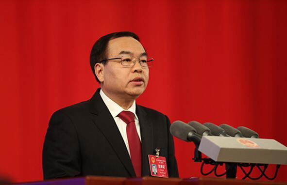 重庆市五届人大二次会议开幕 唐良智作工作报告