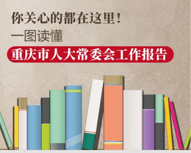 你关心的都在这里!一图读懂重庆市人大常委会工作报告