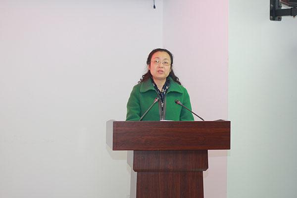 重庆出版集团党委书记、总编辑 陈兴芜在丛书首发活动会上讲话