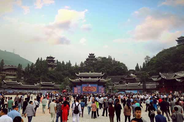 蚩尤九黎城庙会