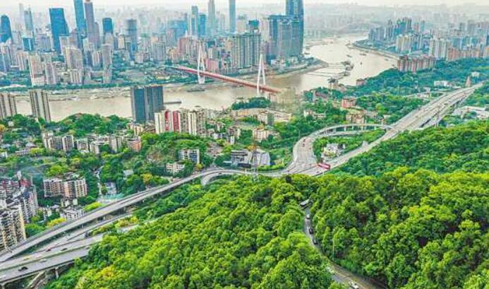 """""""两江四岸""""铸造重庆城市气质"""