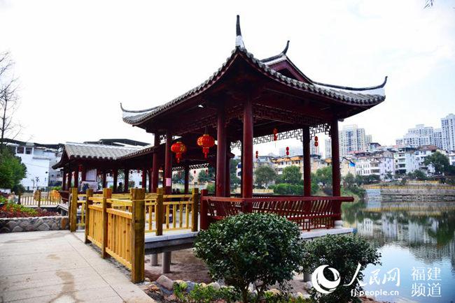 """福建沙县:30多岁老公园""""整容""""了 成群众休闲好去处"""
